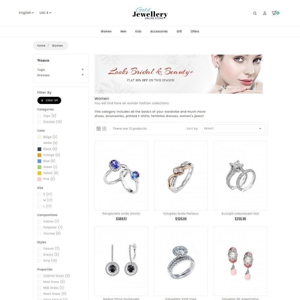 theme - Schmuck & Accesoires - Modern Jewelry Store - 5