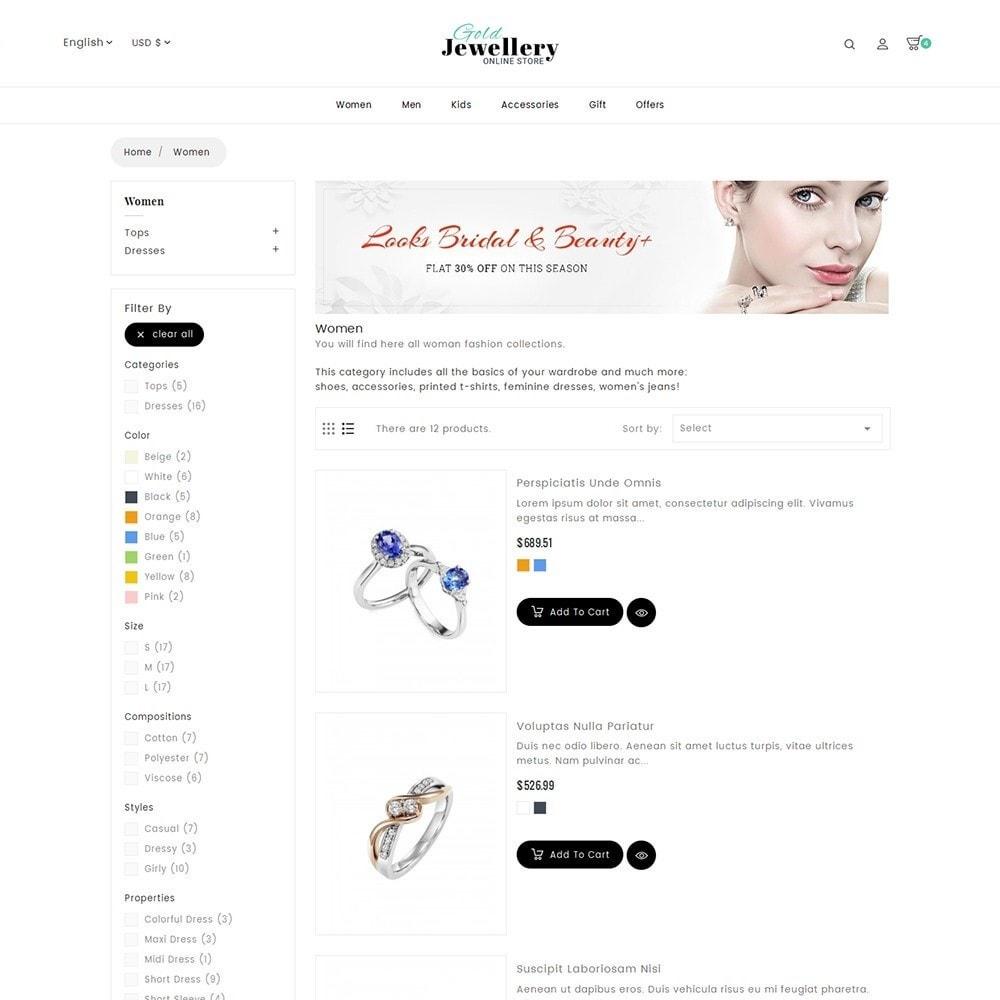 theme - Schmuck & Accesoires - Modern Jewelry Store - 6