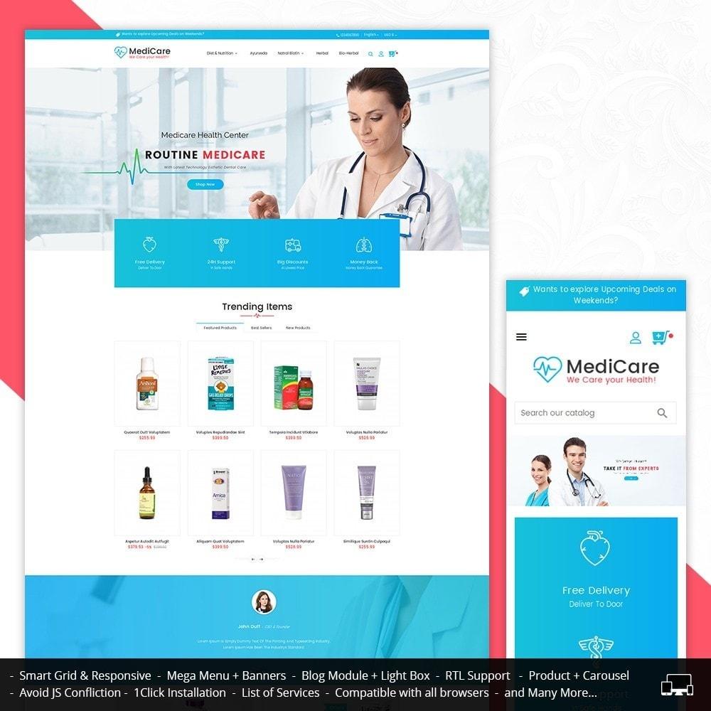 theme - Health & Beauty - Medicine Store - 1