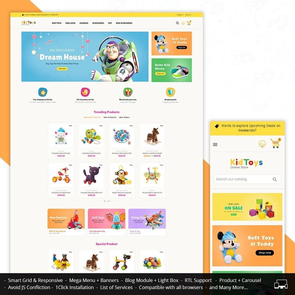 theme - Crianças & Brinquedos - Kids Toy Store - 1