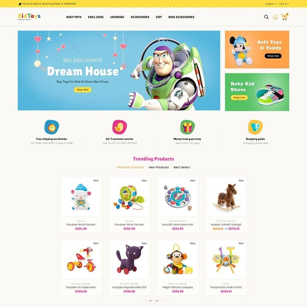 theme - Crianças & Brinquedos - Kids Toy Store - 2