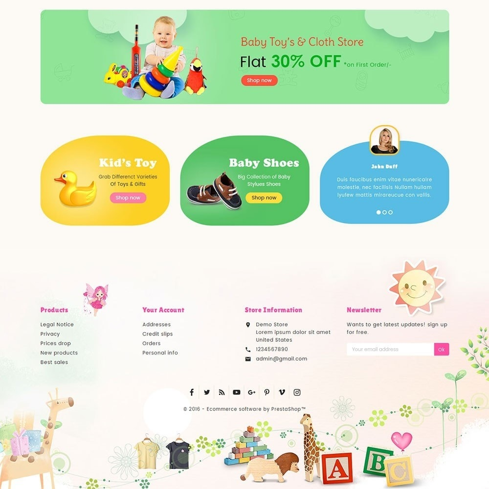 theme - Crianças & Brinquedos - Kids Toy Store - 4