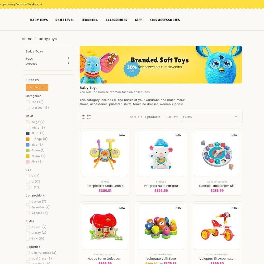 theme - Niños y Juguetes - Kids Toy Store - 5