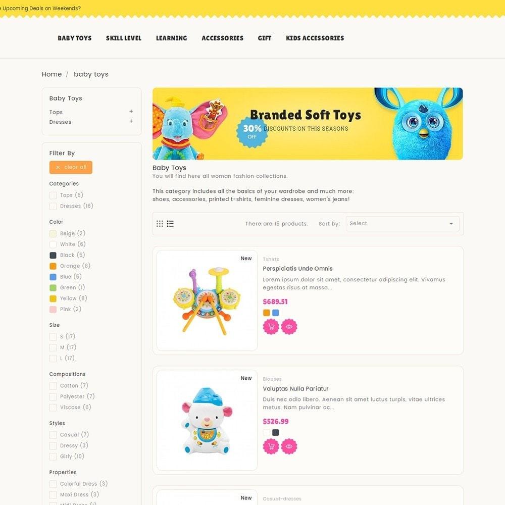 theme - Niños y Juguetes - Kids Toy Store - 6