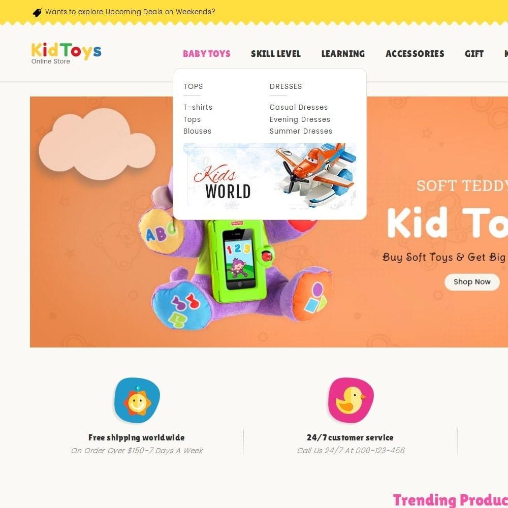 theme - Crianças & Brinquedos - Kids Toy Store - 11