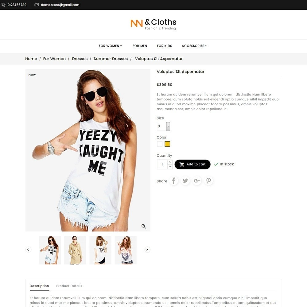 theme - Mode & Schuhe - Fashion Store - 7