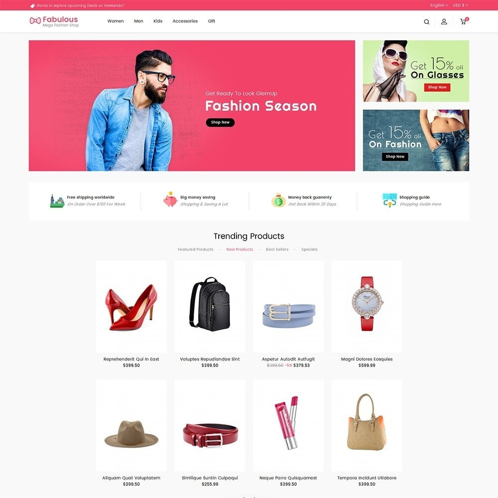 theme - Moda & Obuwie - Fabulous Fashion Store - 2