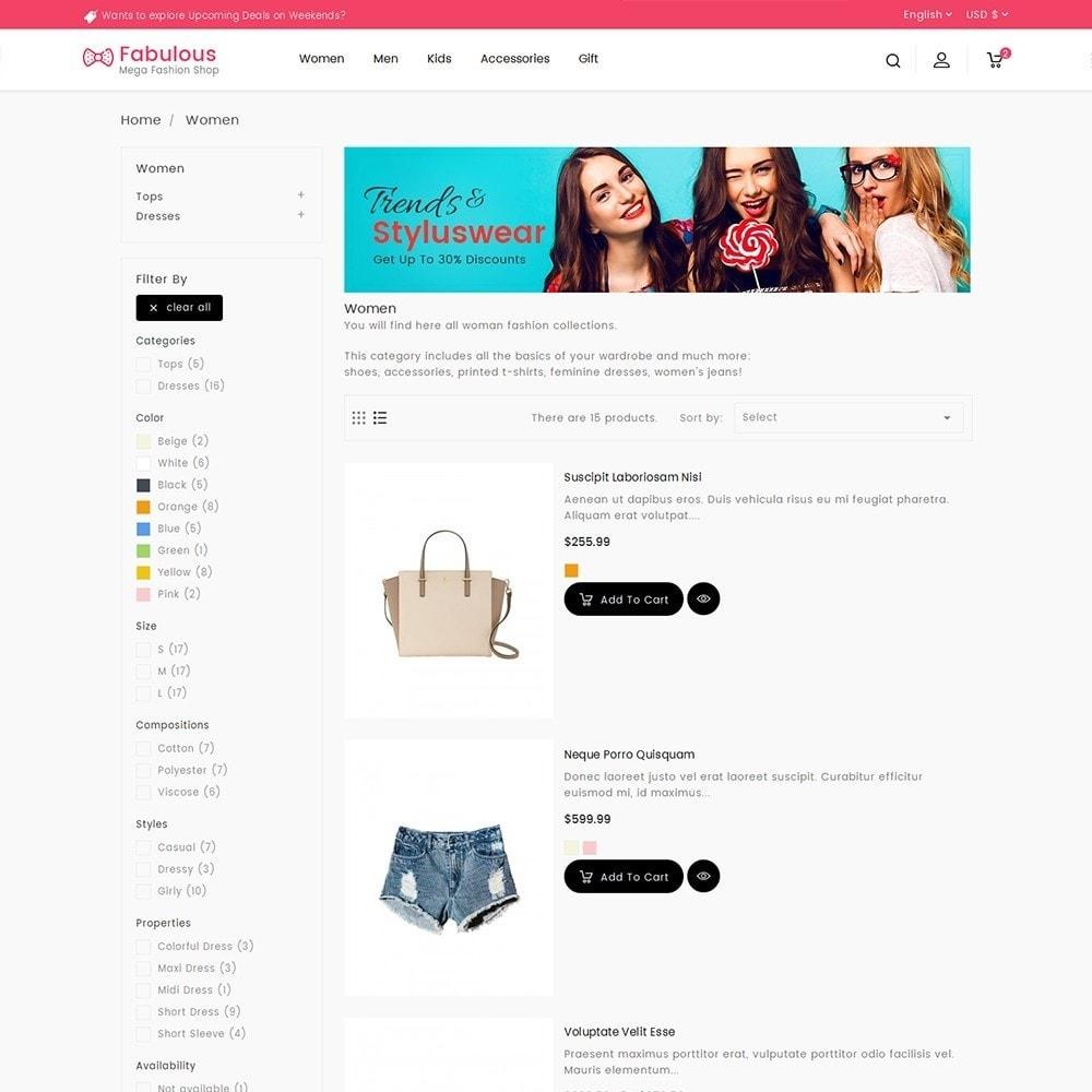 theme - Moda & Obuwie - Fabulous Fashion Store - 6