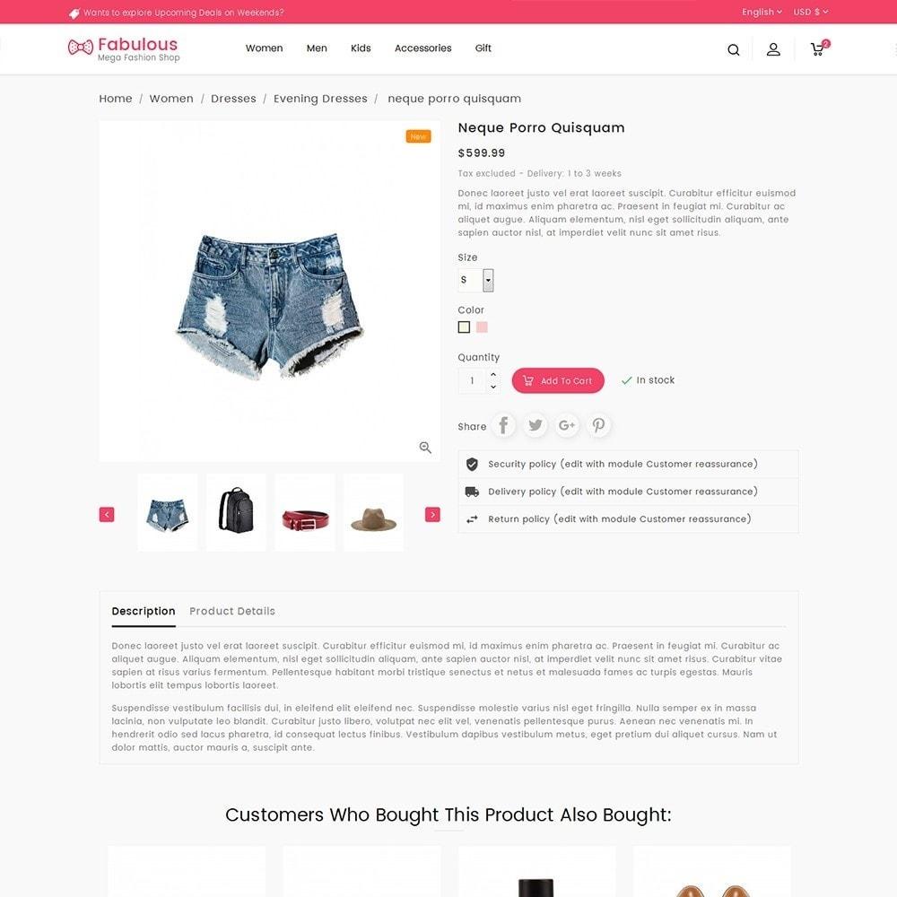 theme - Moda & Obuwie - Fabulous Fashion Store - 7