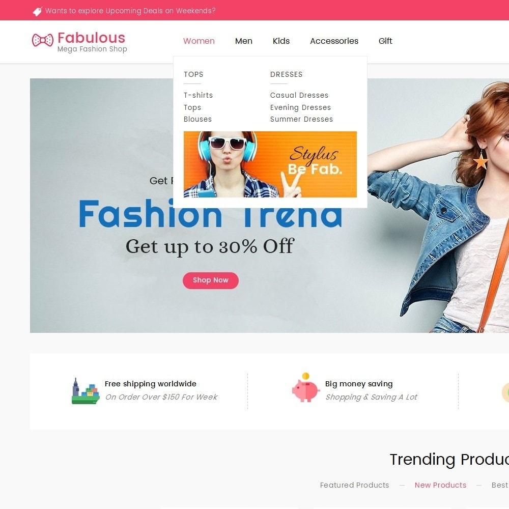 theme - Moda & Obuwie - Fabulous Fashion Store - 11