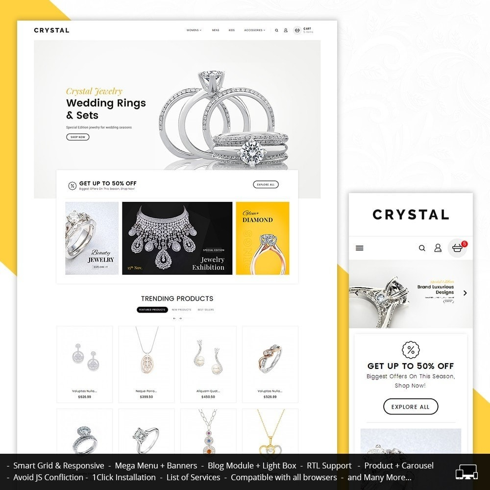 theme - Joyas y Accesorios - Crystal Jewelry Store - 1