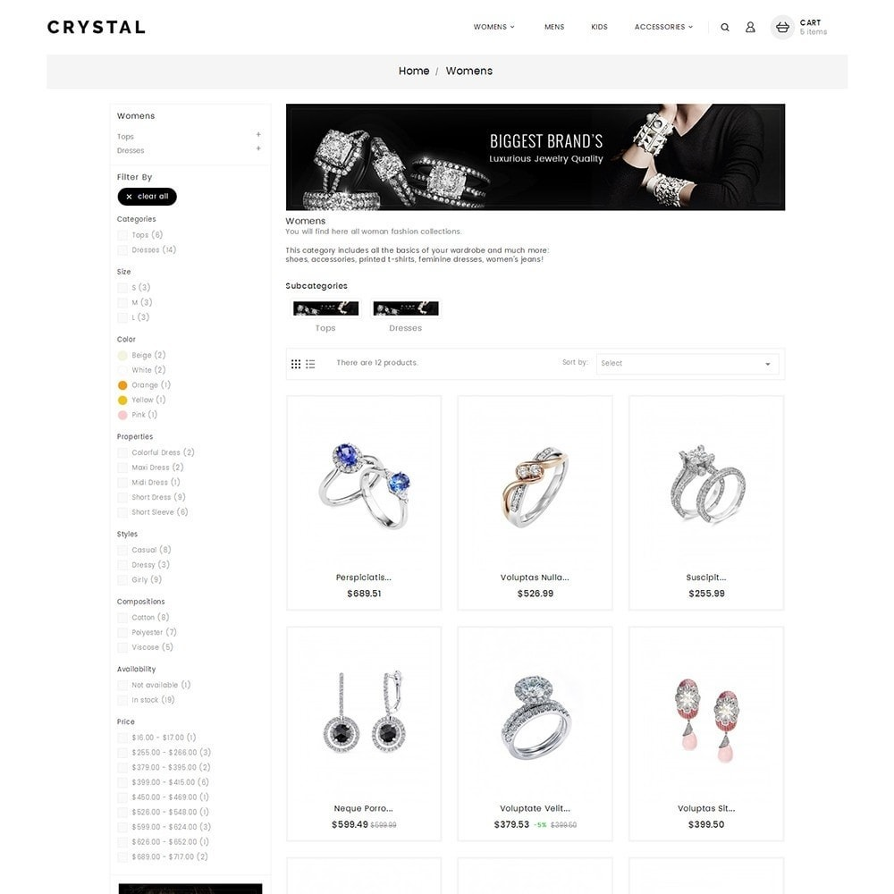 theme - Joyas y Accesorios - Crystal Jewelry Store - 5