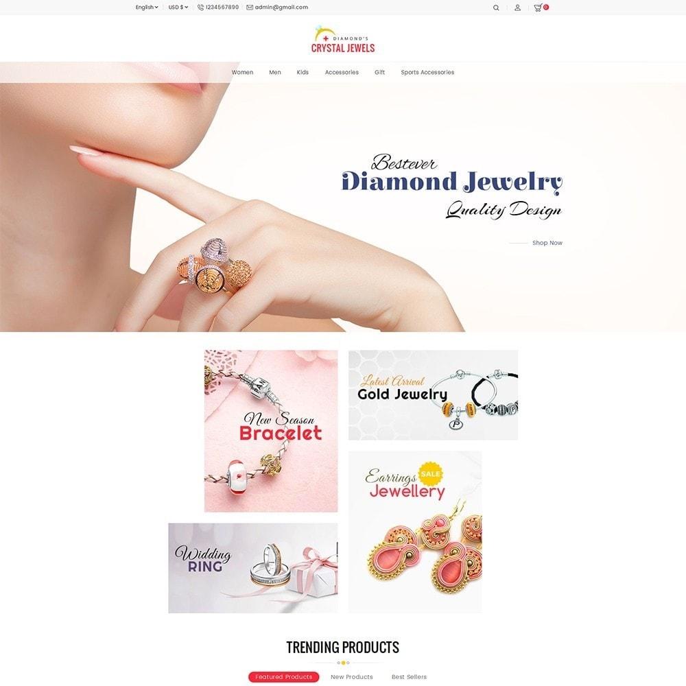 theme - Ювелирные изделия и Аксессуары - Crystal Jewelry Store - 2