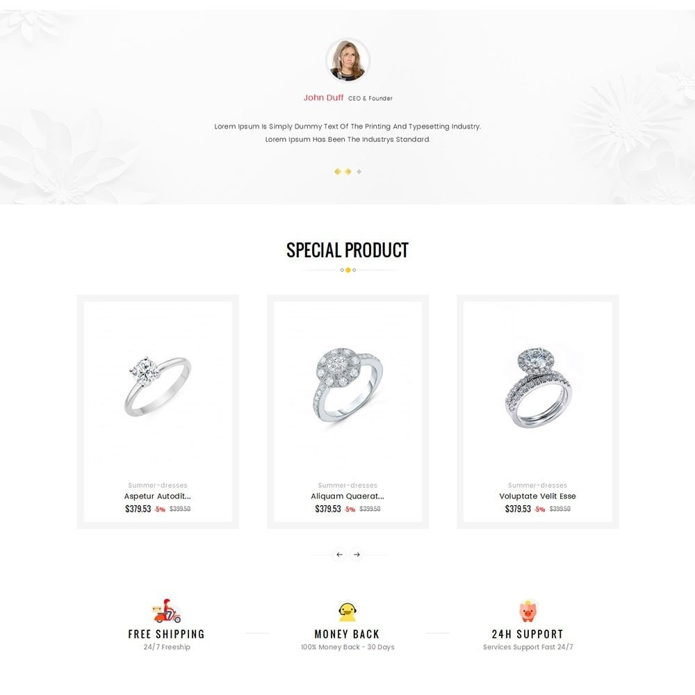 theme - Ювелирные изделия и Аксессуары - Crystal Jewelry Store - 4