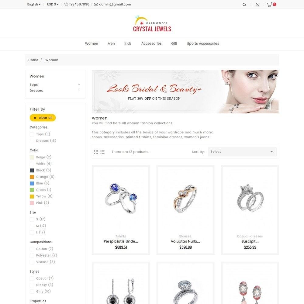 theme - Ювелирные изделия и Аксессуары - Crystal Jewelry Store - 5