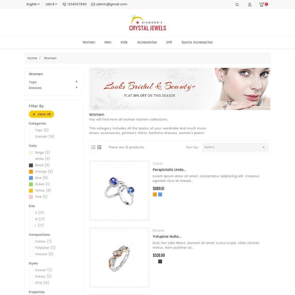 theme - Ювелирные изделия и Аксессуары - Crystal Jewelry Store - 6