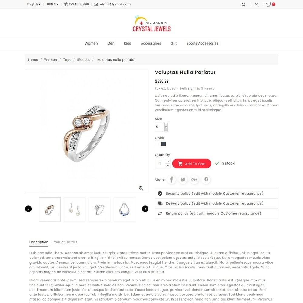 theme - Ювелирные изделия и Аксессуары - Crystal Jewelry Store - 7
