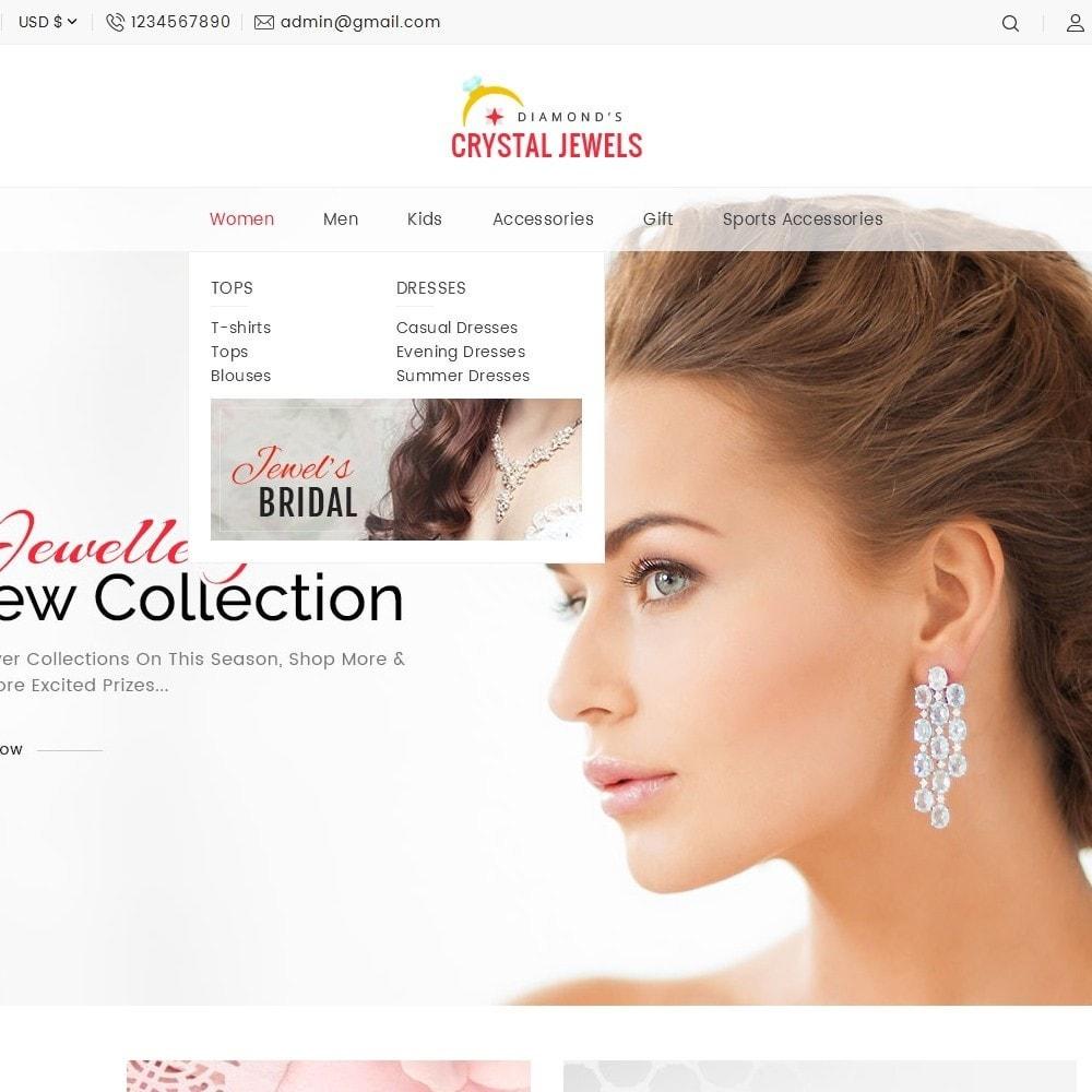 theme - Ювелирные изделия и Аксессуары - Crystal Jewelry Store - 11