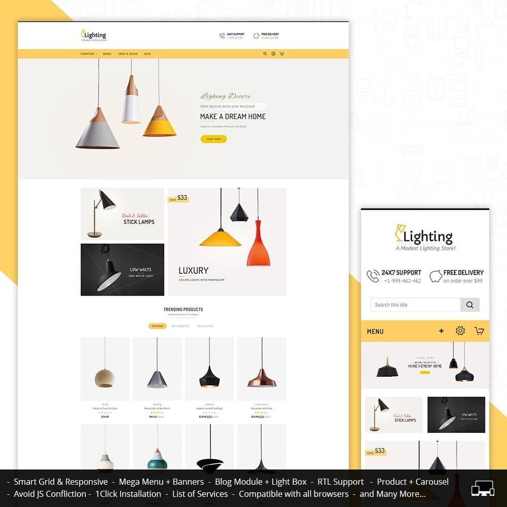 theme - Casa & Jardins - Lighting Shop - 1