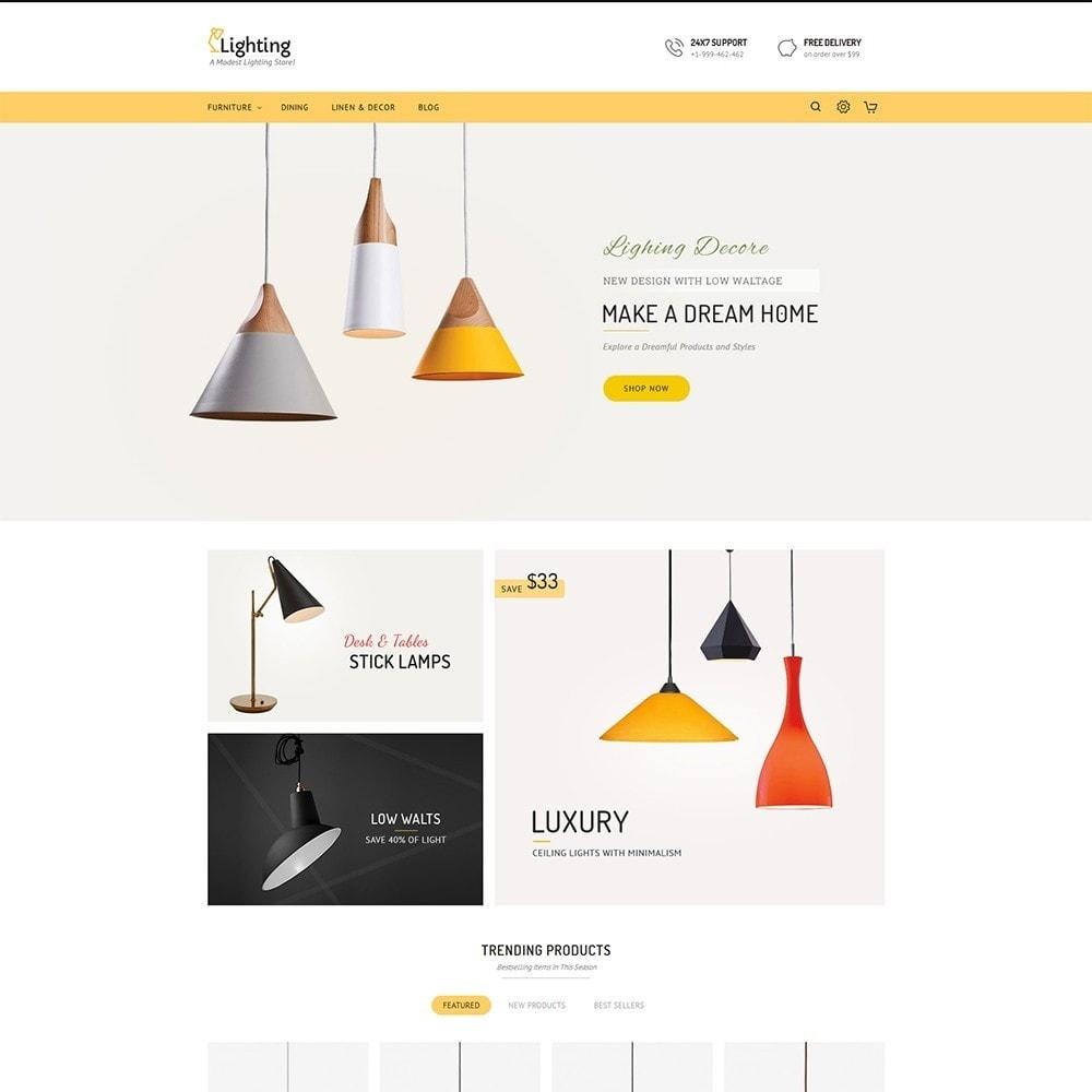 theme - Casa & Jardins - Lighting Shop - 2