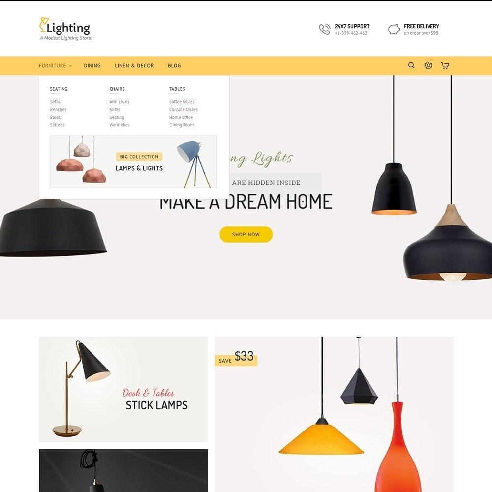theme - Casa & Jardins - Lighting Shop - 8