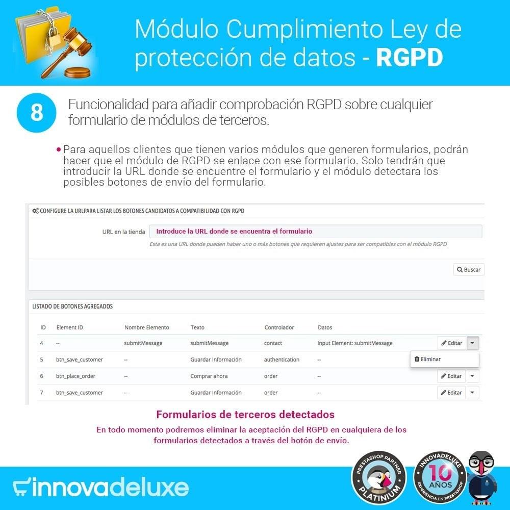 module - Marco Legal (Ley Europea) - Cumplimiento Ley de protección de datos - RGPD - 15