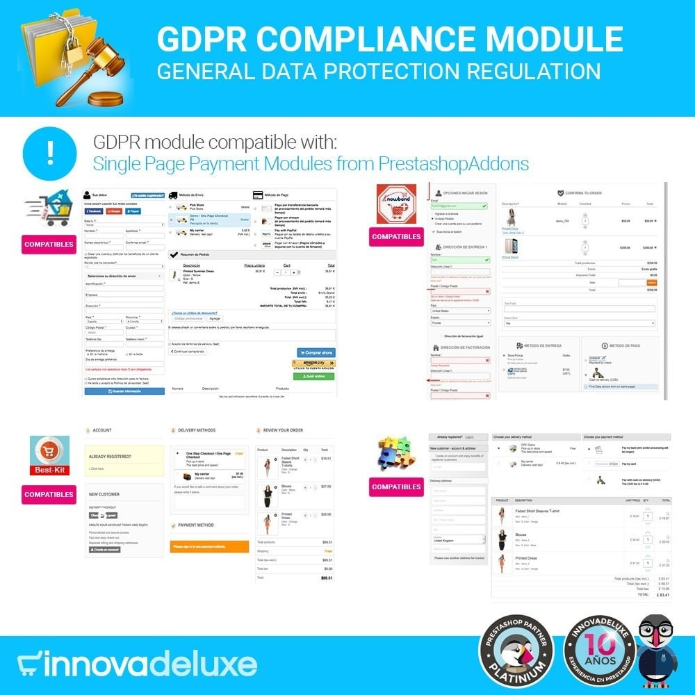 module - Wzmianki prawne - Data privacy extended (data protection law) - GDPR - 18