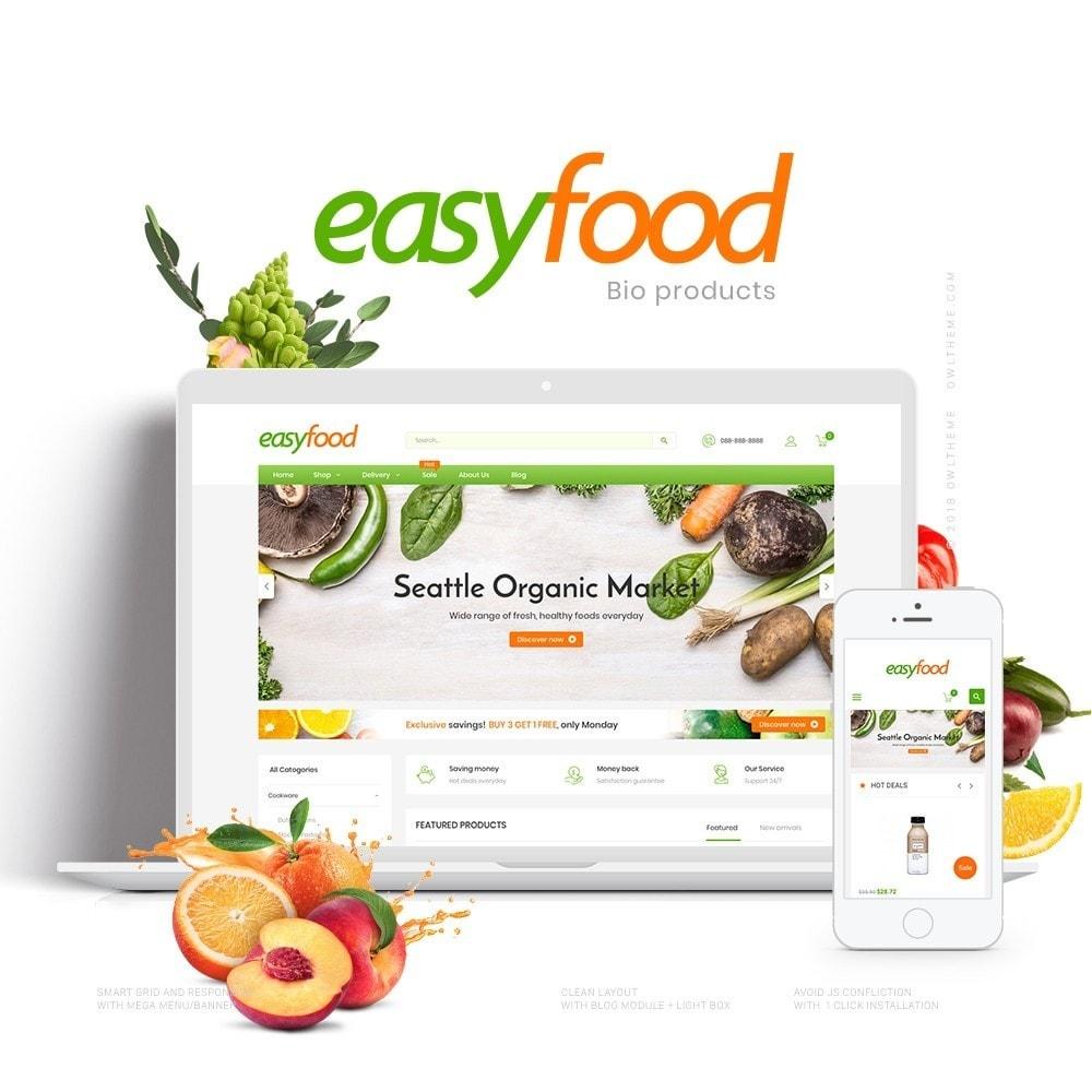 theme - Żywność & Restauracje - EasyFood Store - 1