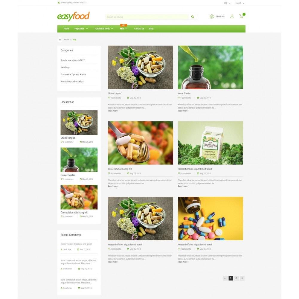 theme - Żywność & Restauracje - EasyFood Store - 5
