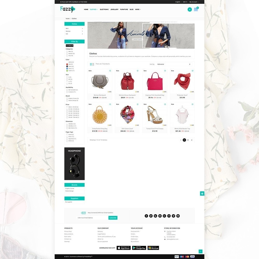 theme - Fashion & Shoes - Stylish Fazzy – The Fashion Store - 3