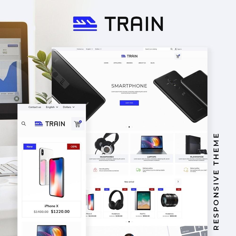 theme - Electronics & Computers - Train - High-tech Shop - 1
