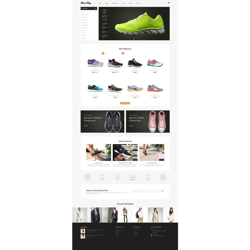 theme - Fashion & Shoes - Shoes Shop Store - 2