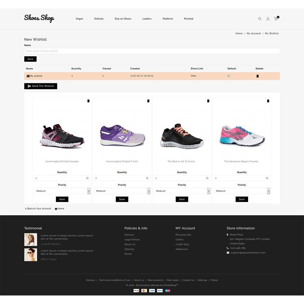 theme - Fashion & Shoes - Shoes Shop Store - 9
