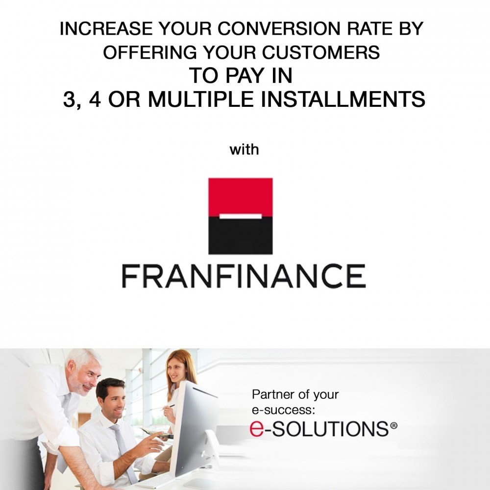 module - Creditcardbetaling of Walletbetaling - Payment solutions with Franfinance - 1