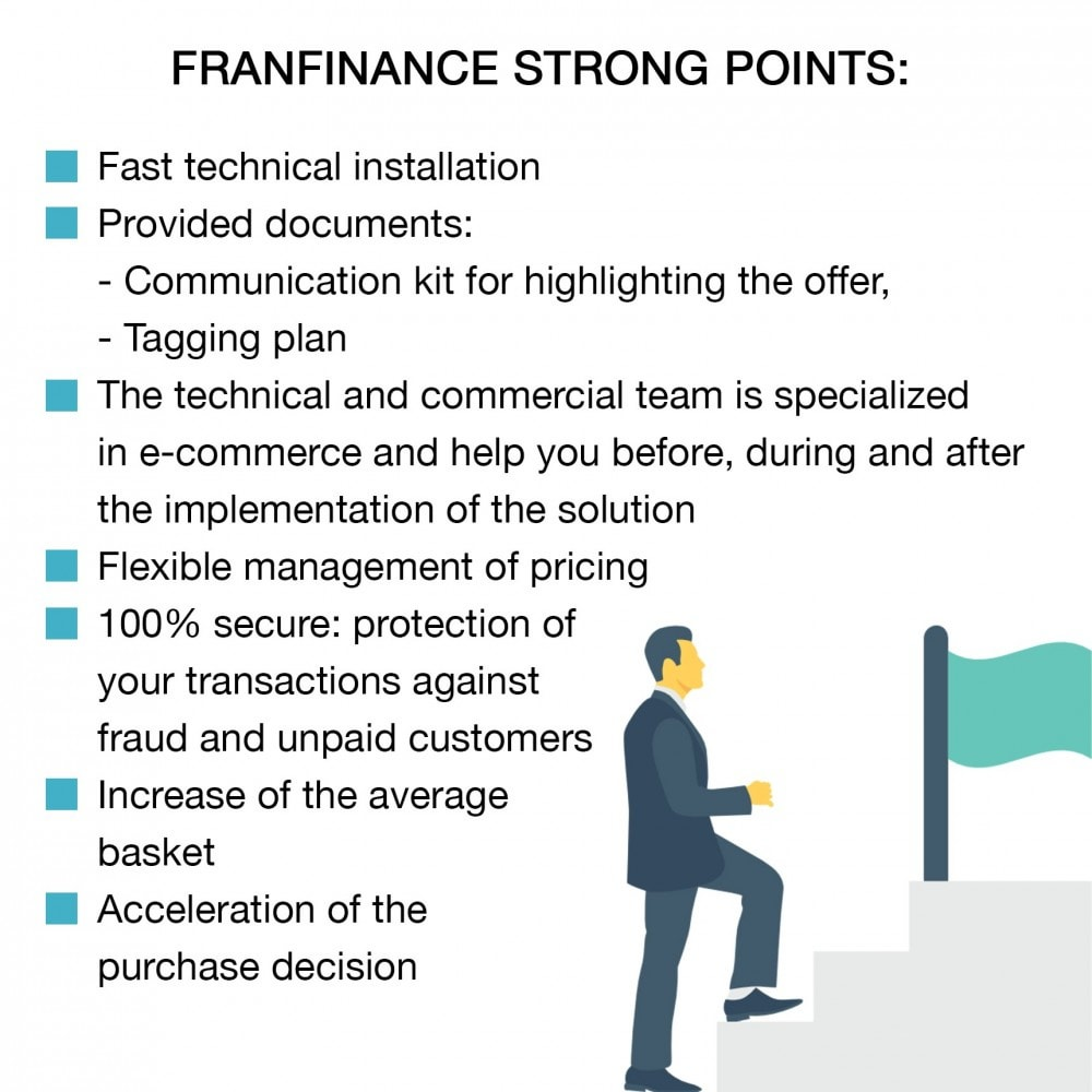 module - Creditcardbetaling of Walletbetaling - Payment solutions with Franfinance - 4