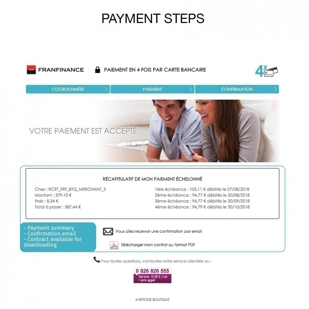 module - Creditcardbetaling of Walletbetaling - Payment solutions with Franfinance - 8
