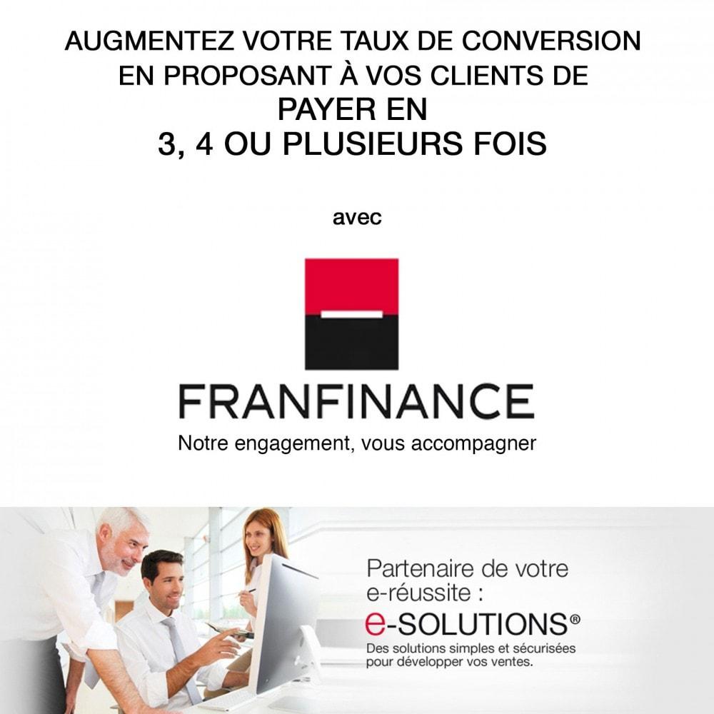 module - Paiement par Carte ou Wallet - Solutions de Paiement avec Franfinance - 1