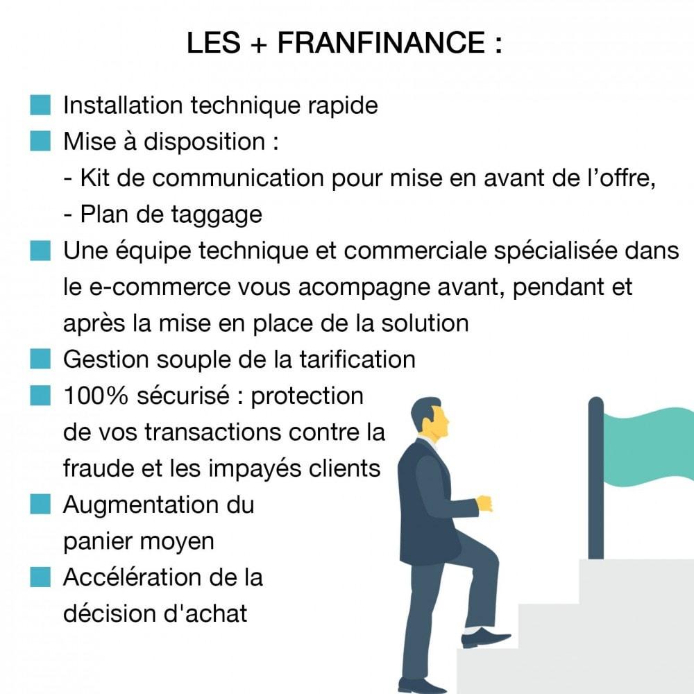 module - Paiement par Carte ou Wallet - Solutions de Paiement avec Franfinance - 4