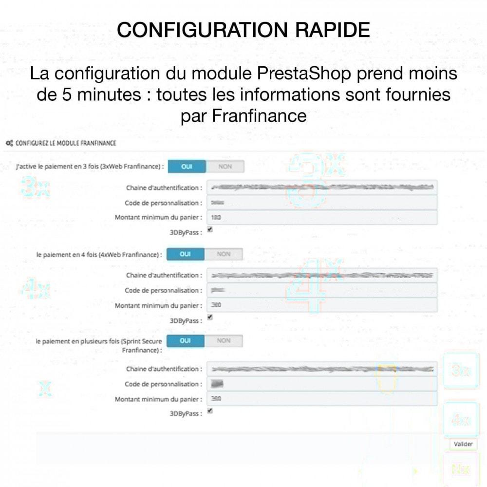 module - Paiement par Carte ou Wallet - Solutions de Paiement avec Franfinance - 5