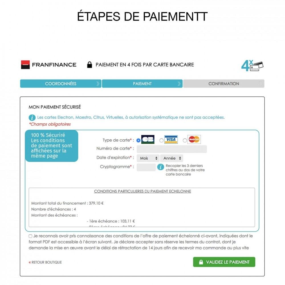 module - Paiement par Carte ou Wallet - Solutions de Paiement avec Franfinance - 7