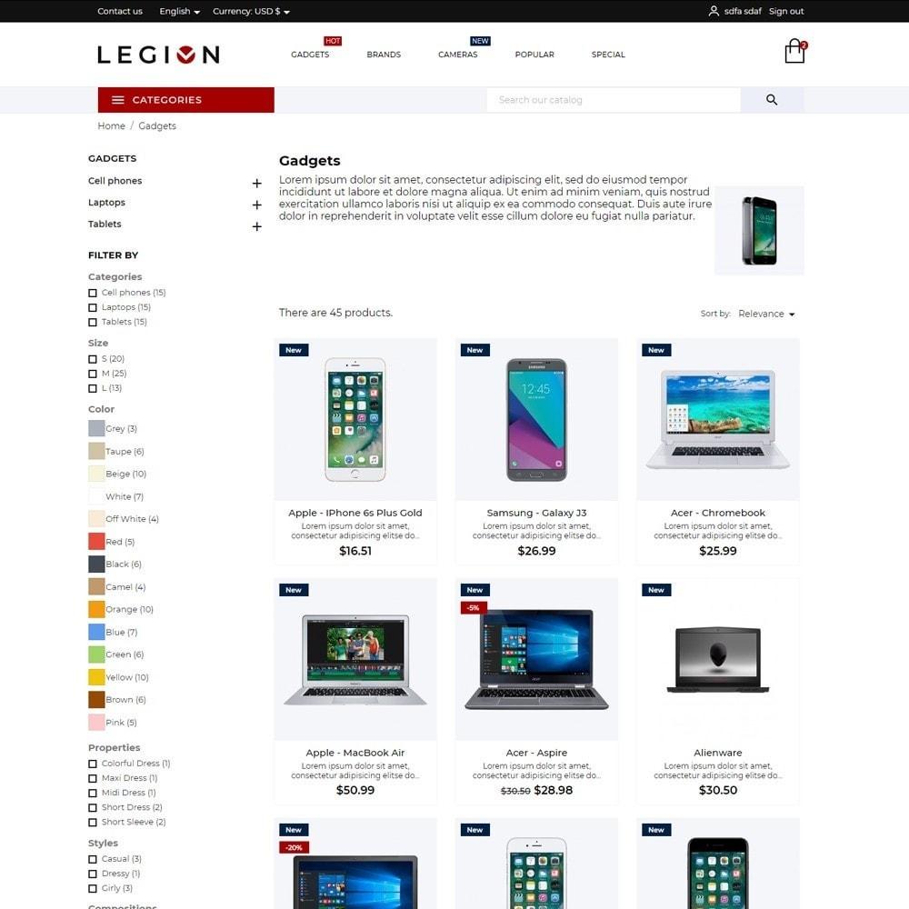 theme - Electronics & Computers - Legion - High-tech Shop - 5