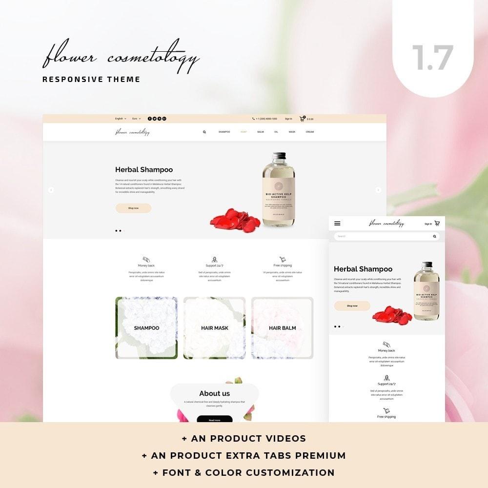 theme - Health & Beauty - FlowerCosmetology Cosmetics - 1