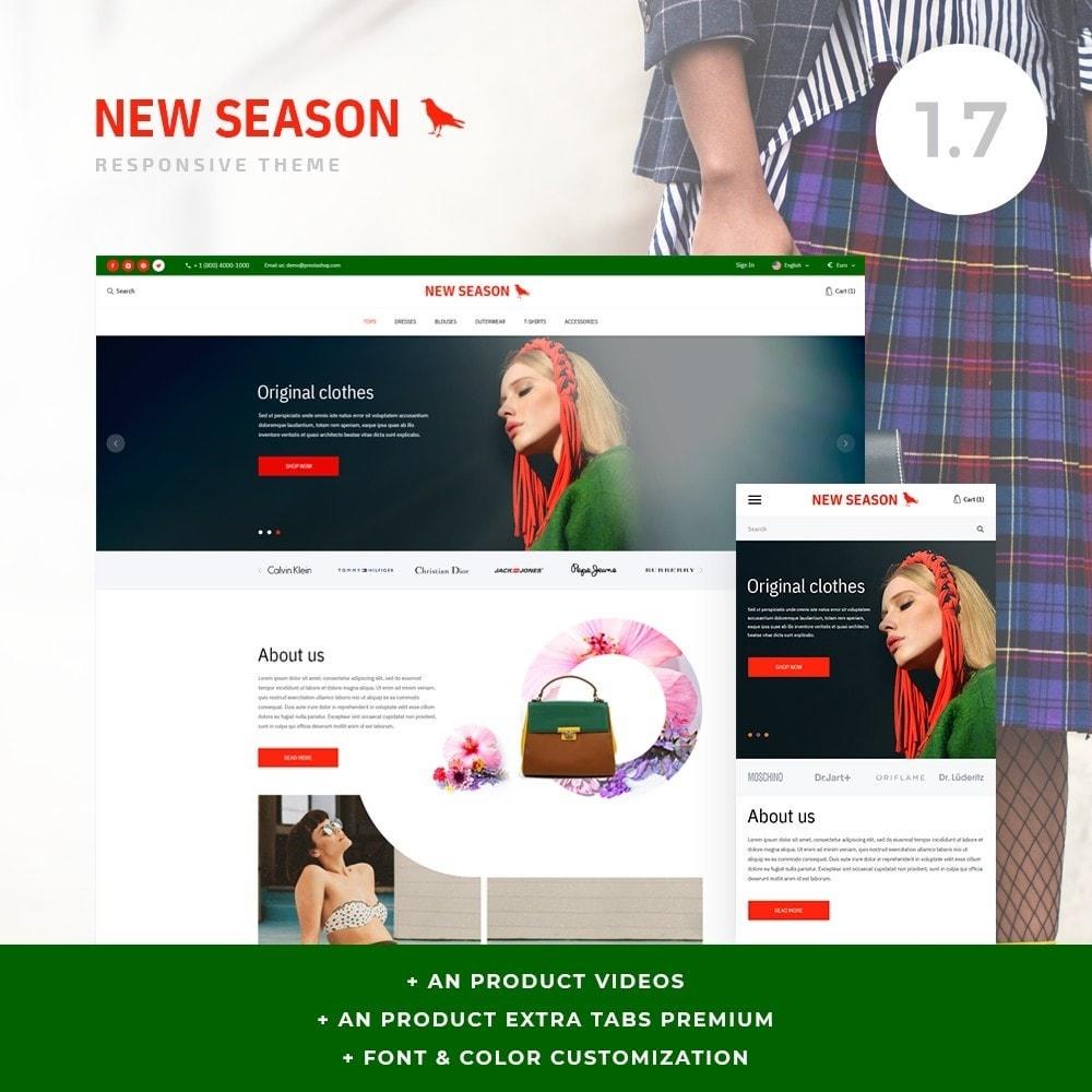 theme - Fashion & Shoes - NewSeason Fashion Store - 1