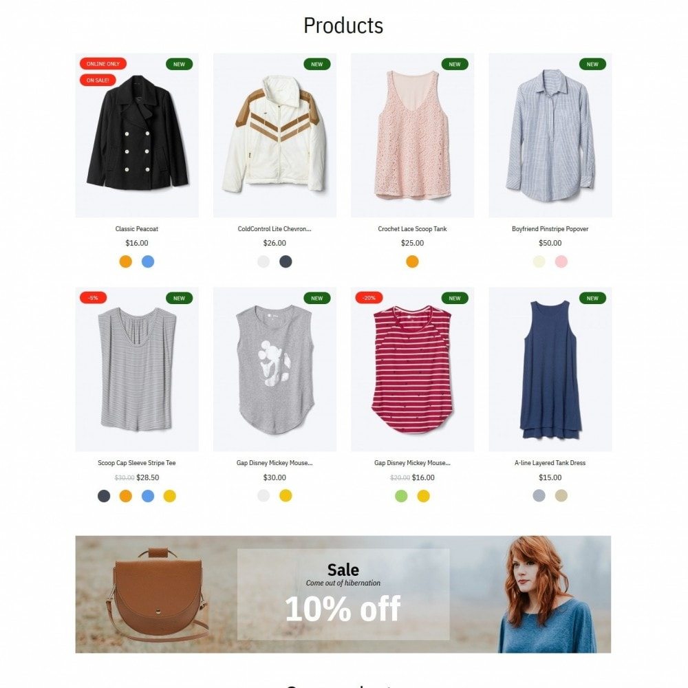 theme - Fashion & Shoes - NewSeason Fashion Store - 3