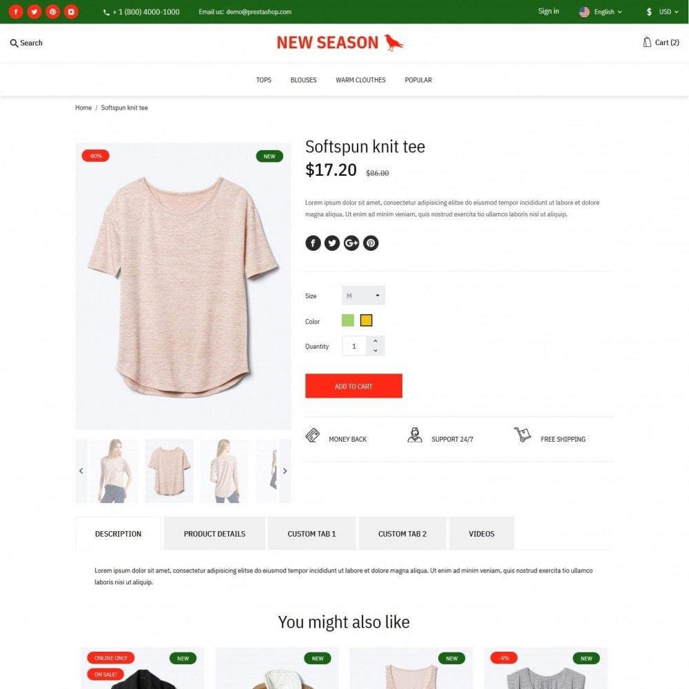 theme - Fashion & Shoes - NewSeason Fashion Store - 6