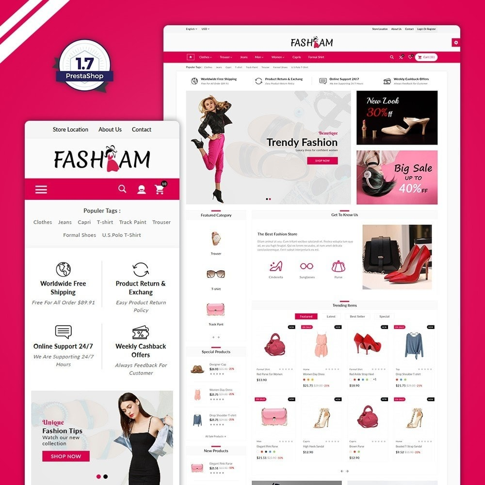theme - Fashion & Shoes - The Style –Fashion Store - 1