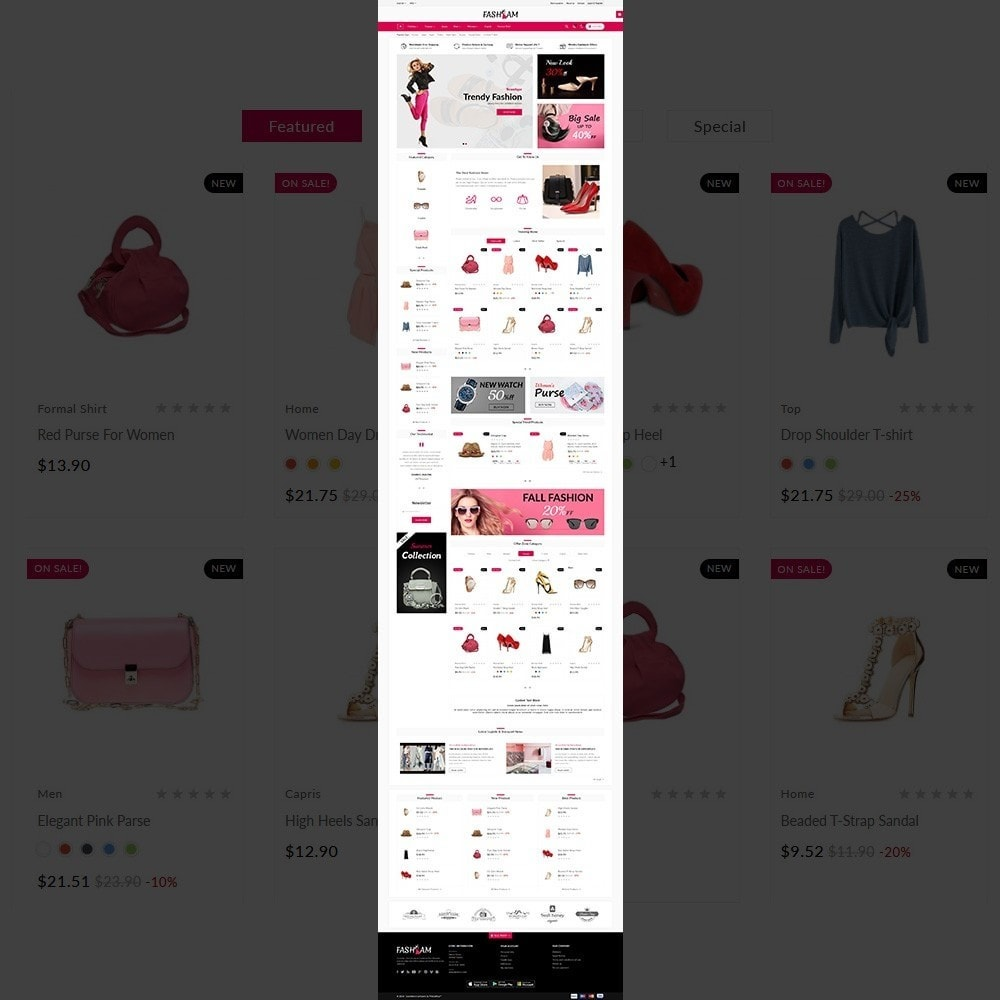 theme - Fashion & Shoes - The Style –Fashion Store - 2