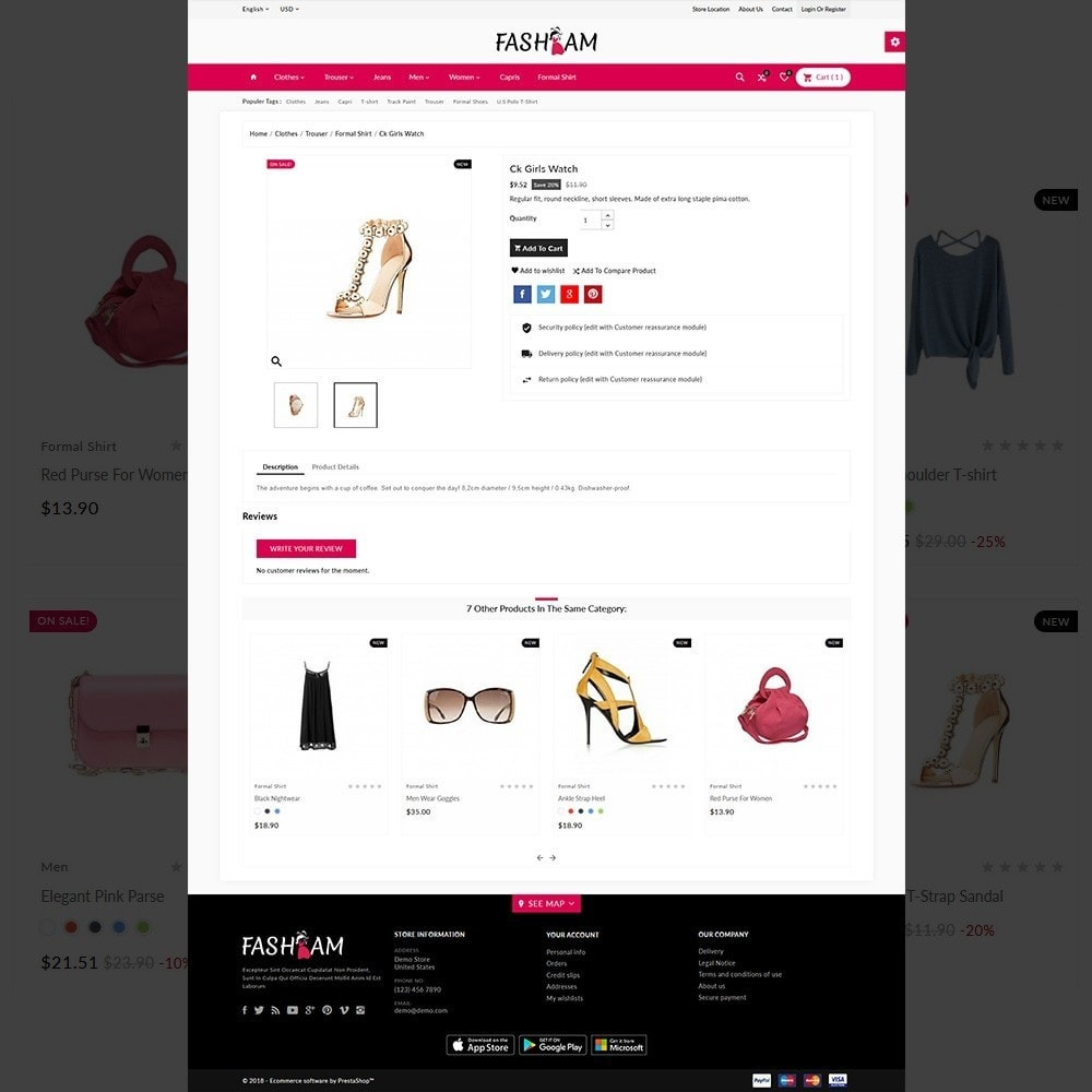 theme - Fashion & Shoes - The Style –Fashion Store - 5