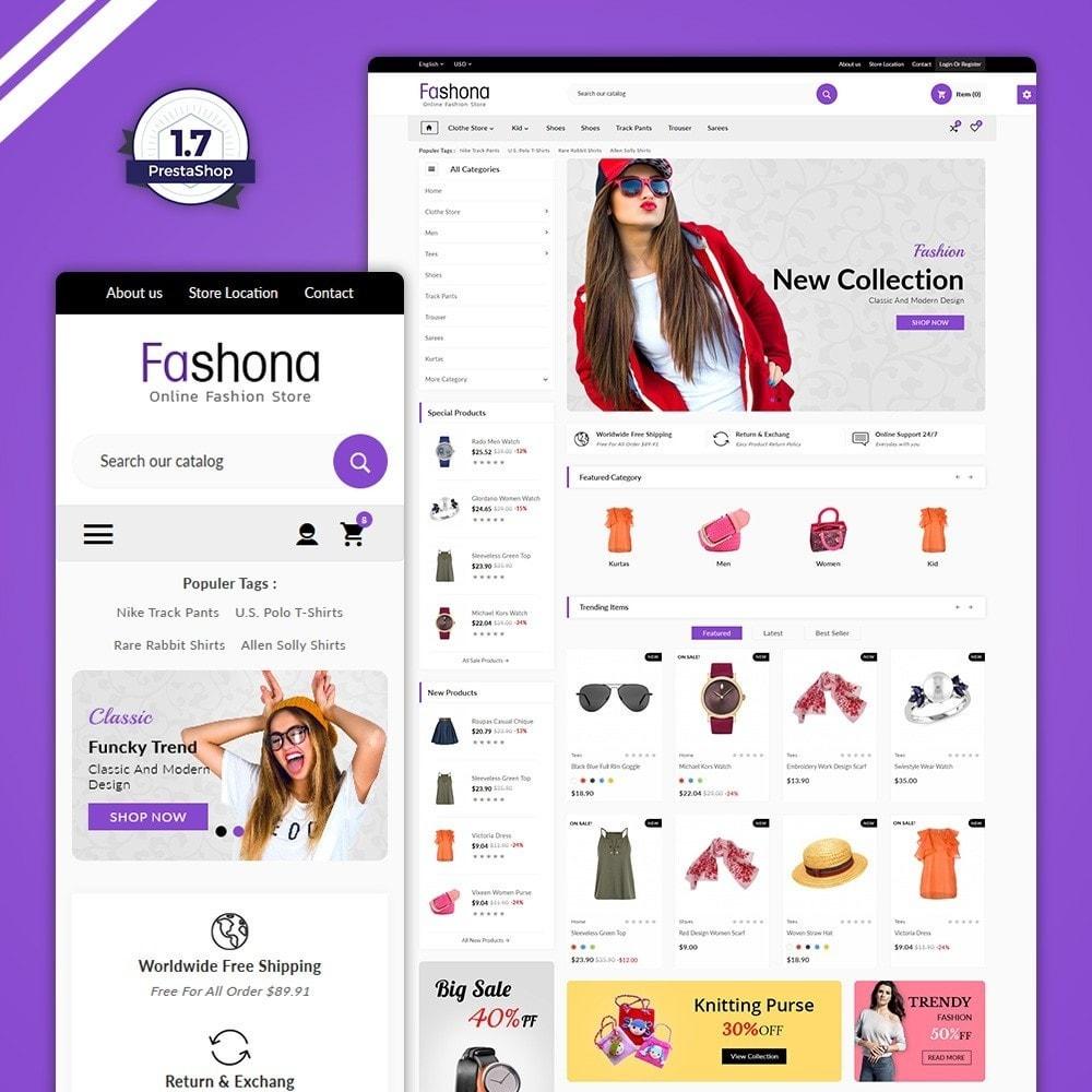 theme - Fashion & Shoes - The Fashona – Fashion Mega Mall - 1