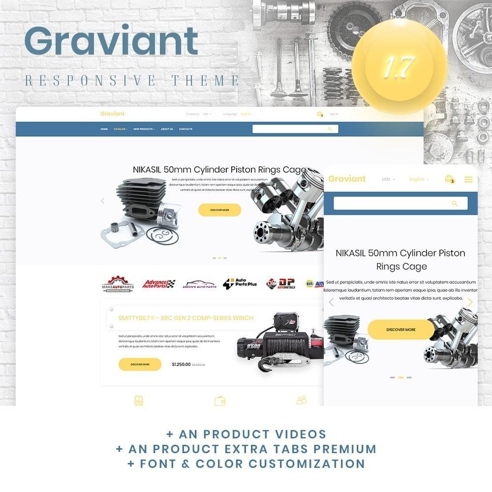 theme - Automotive & Cars - Graviant - 1